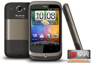 معرفی و عرضه گوشی HTC Wildfire