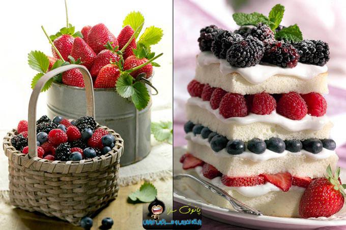 خوراکی های مخصوص روزهای گرم تابستان