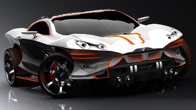 عکس زیبا از طراحی اتومبیل BMW