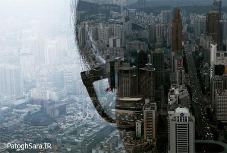 عکس های بینظیر با موضوع سایه شهر های بزرگ !