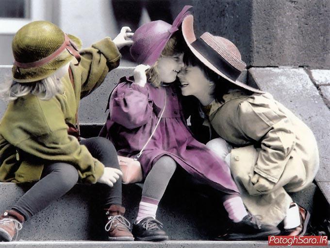 تصاویر ناز و عاشقانه کودکان