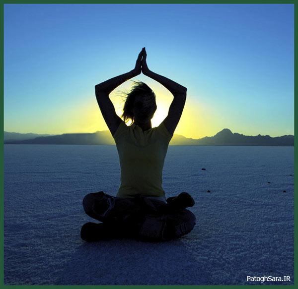 سلامتی در آرامش و تعادل درونی است!