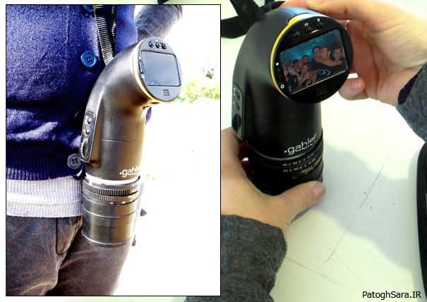 دوربین عکاسی منحنی دار