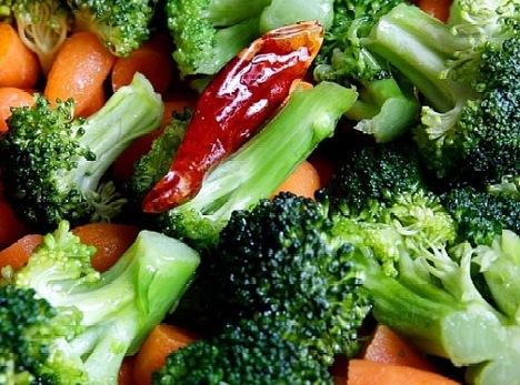 بهترین روش برای پاک کردن سبزیجات