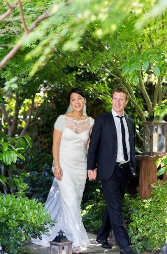 موسس فیسبوک ازدواج کرد !