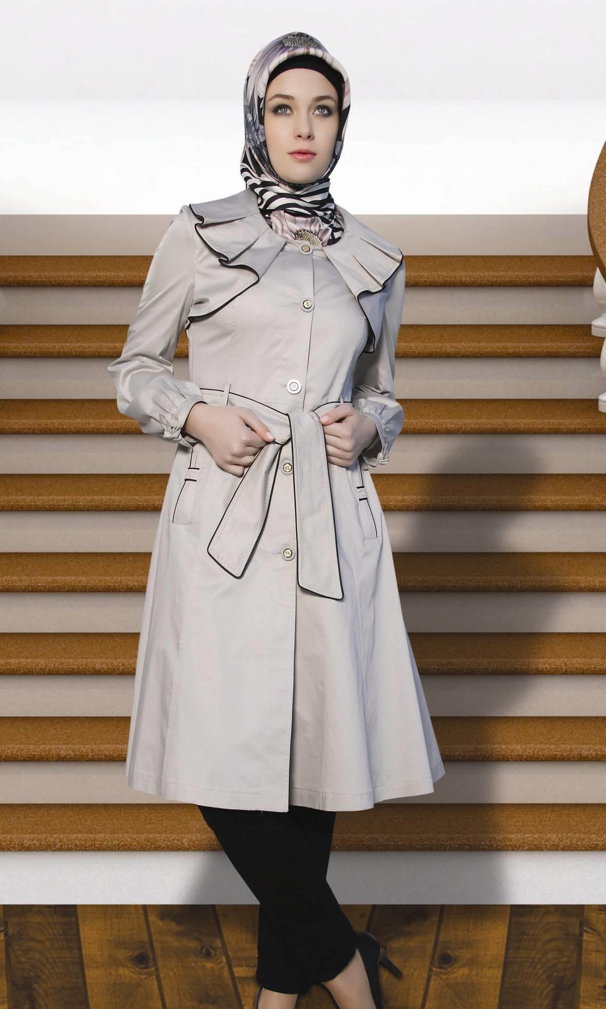 جدیدترین مدل های مانتو با حجاب و زیبا