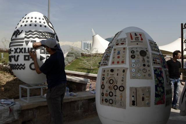 عکس های جشنواره تخم مرغهای نوروزی