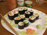 طرز تهیه سوشی غذای ژاپنی
