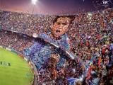 تصاویری از تماشاگران خوش ذوق فوتبال